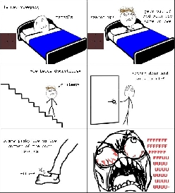 Rage Comic - Dat moment when you feel it