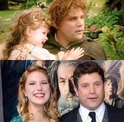 Sean Astin And Daughter Then And Now