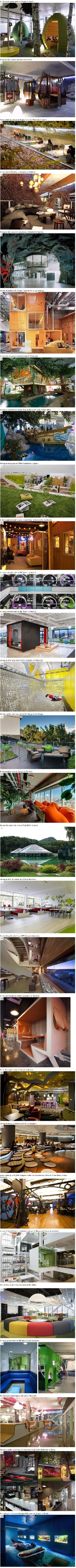 Some very cool offices...