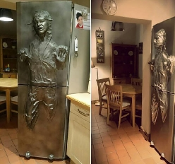 Star Wars Fans Can't Resist This Fridge