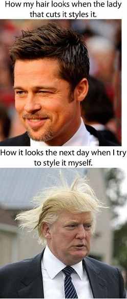 That's why I keept my hair long