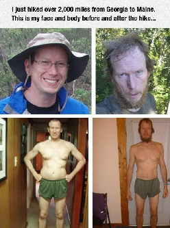 This Is What Hiking 2000 Miles In 153 Days Does To Your Body