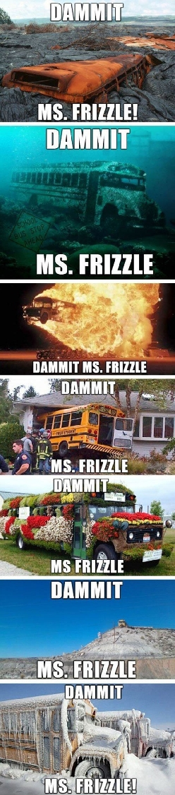 When Is It Going To Be Enough, Ms. Frizzle?