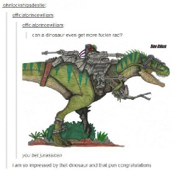 A most awesome dinosaur