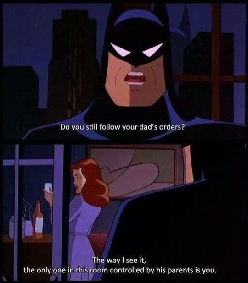 Batman burn