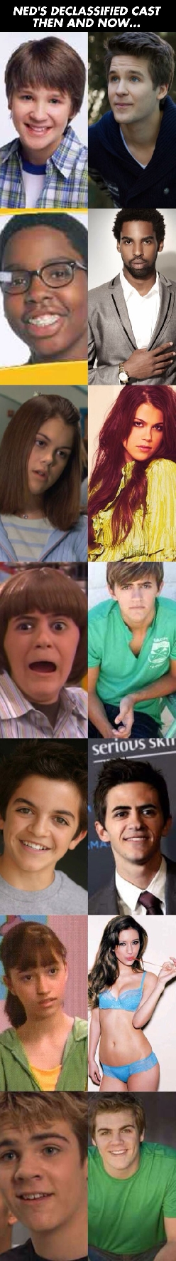 Ned's Declassified Cast Then And Now