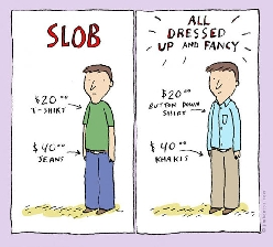 Slob Vs. Fancy