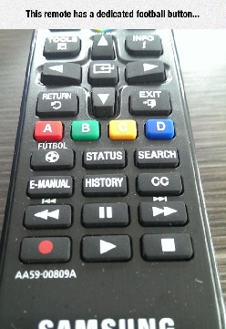 The Mysterious Football Button