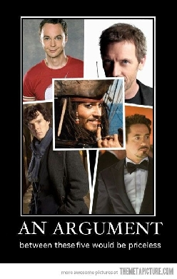 An argument between these five…