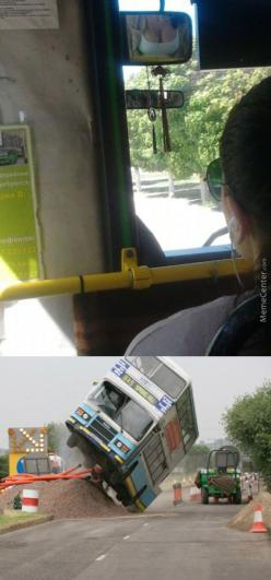 Be A Bus Driver They Said, You'll Get To See Hot Chicks They Said...