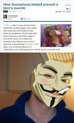 The Good Side Of Anonymous