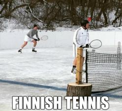You Can Play Any Sport In Any Weather, As Long As You Are Creative