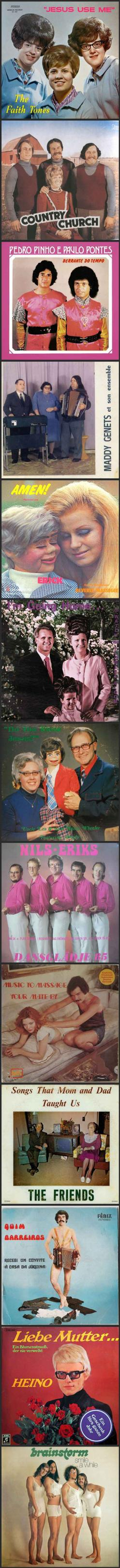 Some seriously awkward old album covers