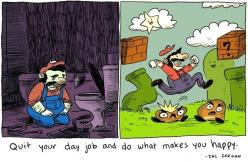 True Moral of Super Mario Bros.