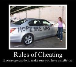 Cheating rules my friends