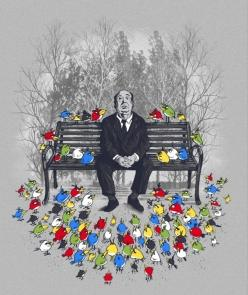 Hitchcock & Angry Birds