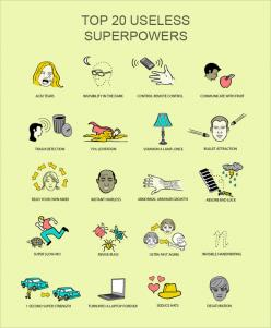 Best useless superpowers
