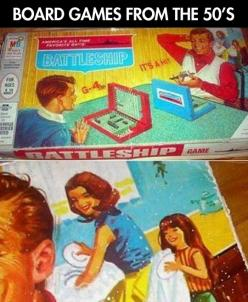 Board games in the old days