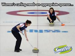 Curling and women