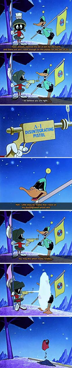 Daffy Duck Was Never The Smart One
