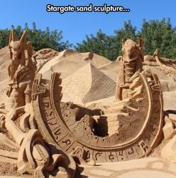 Incredible Sand Work