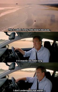 Jeremy Clarkson is confused