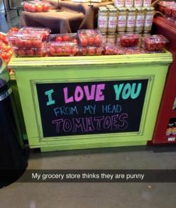 Me Too, Grocery Store
