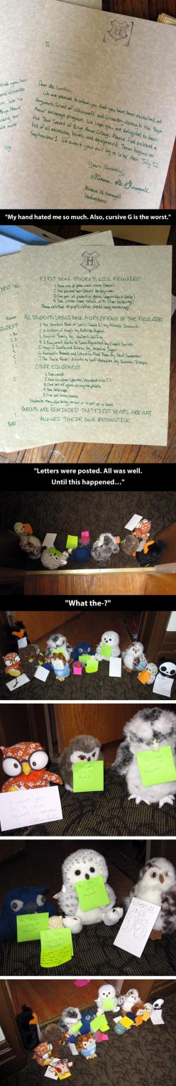 Prank goes from funny to awesome