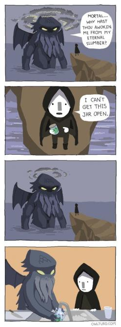 The Only Good Reason to Summon Cthulhu