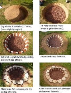 Wanna build a fire pit this summer?