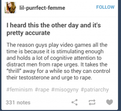 Well, it's why i play video games