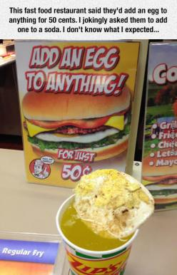 Add An Egg To Anything