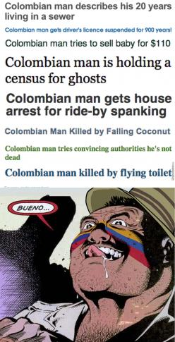 Colombian Man