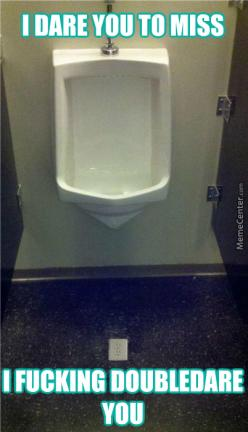 The Janitor Has Had It With Your Piss