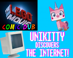 Unikitty Discovers The Internet