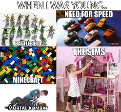 Except The Sims.. I Didn't Played The Sims..