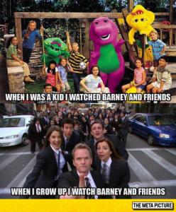 Barney And His Friends