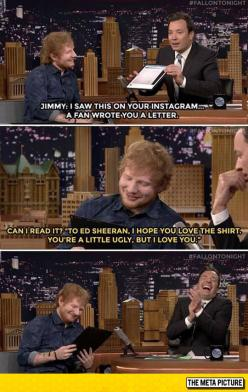 Ed Sheeran Can't Catch A Break