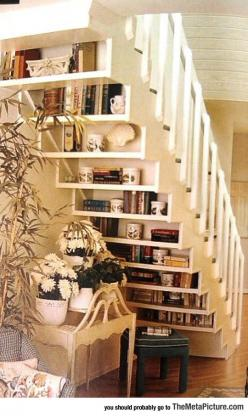 Ever Seen A Book Staircase?