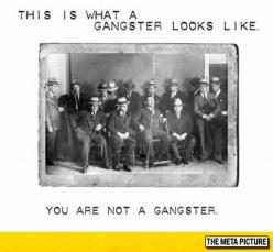 For Those Who Claim To Be Gangster