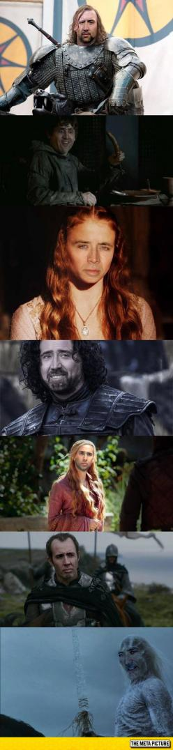 Game Of Cage