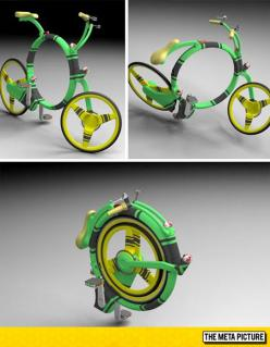 Genius Folding Bicycle