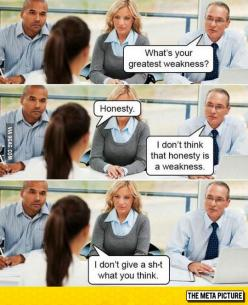 Honest Interviewer