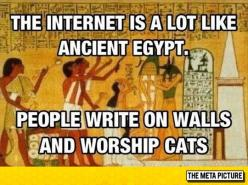 It's Just Like Ancient Egypt