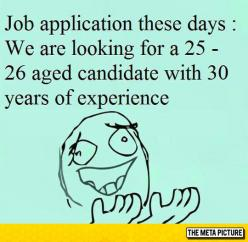 Job Applications Nowadays
