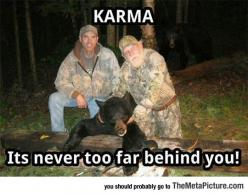 Karma At Its Best