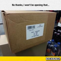 Let's Just Keep The Box Closed