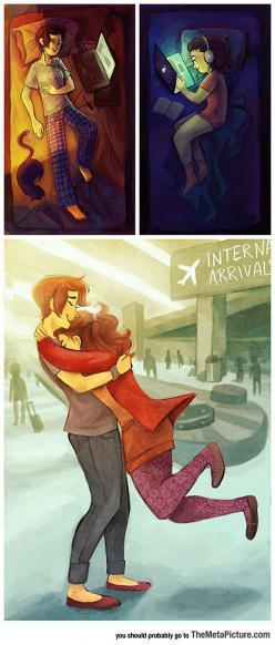 Long Distance Relationships Are Special