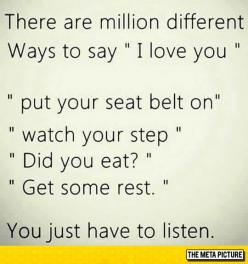 Many Ways To Say 'I Love You'