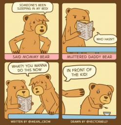 Not Now, Daddy Bear